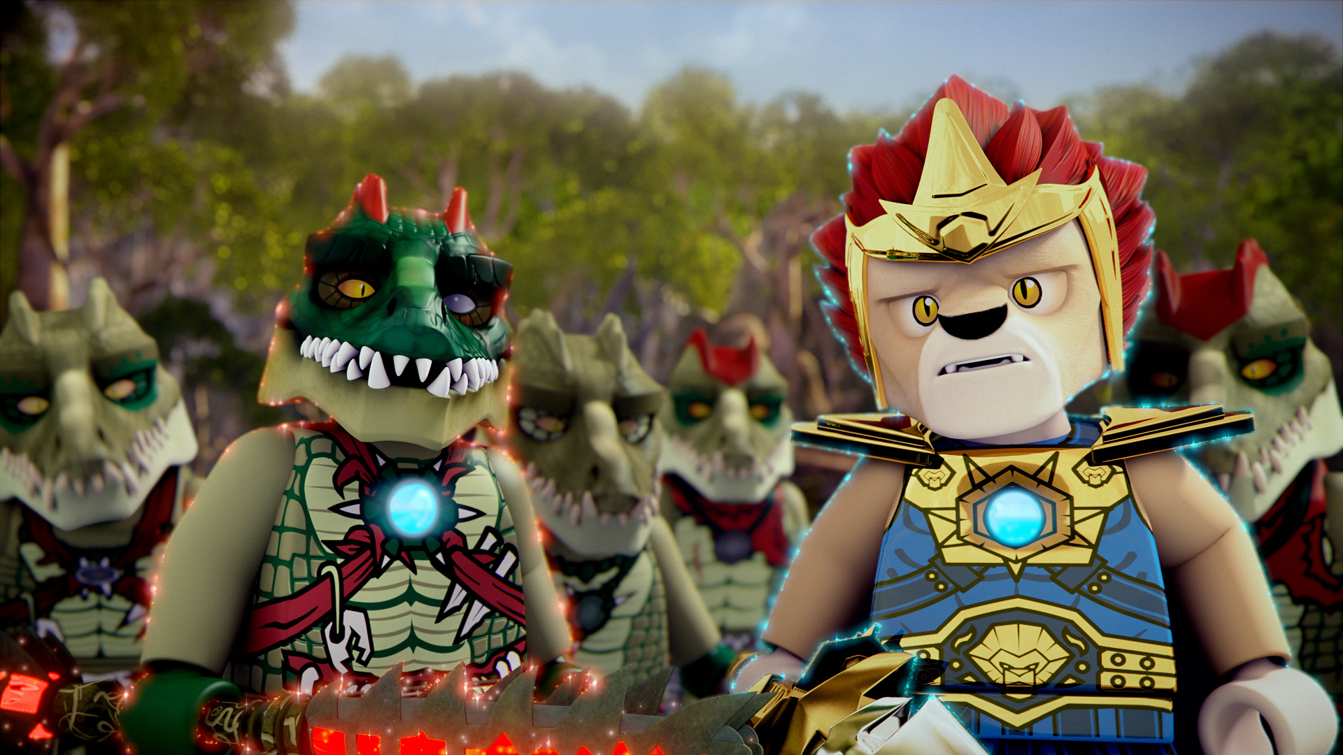 Warner bros home entertainment brings lego legends of chima the lion the crocodile and the - Image de lego chima ...