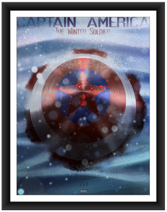 Andy Fairhurst Captain America