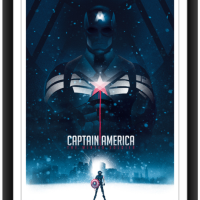 "EXCLUSIVE! The Poster Posse Returns With Their Take On Marvel's ""Captain America: The Winter Soldier"" (Phase 2)"