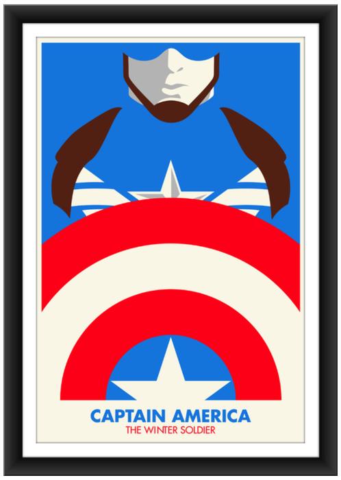 Salvador Anguiano Captain America 4