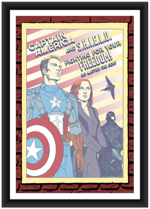 erin gallagher Captain America 1