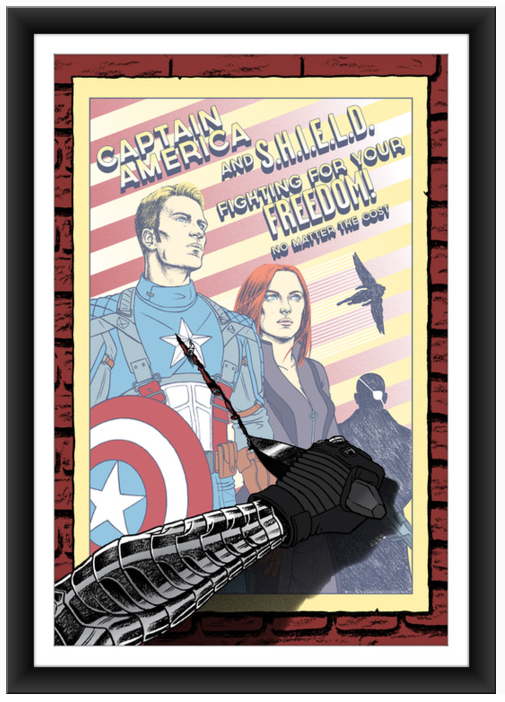Erin Gallagher Captain America 2