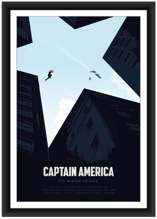 Oliver Riches Captain America