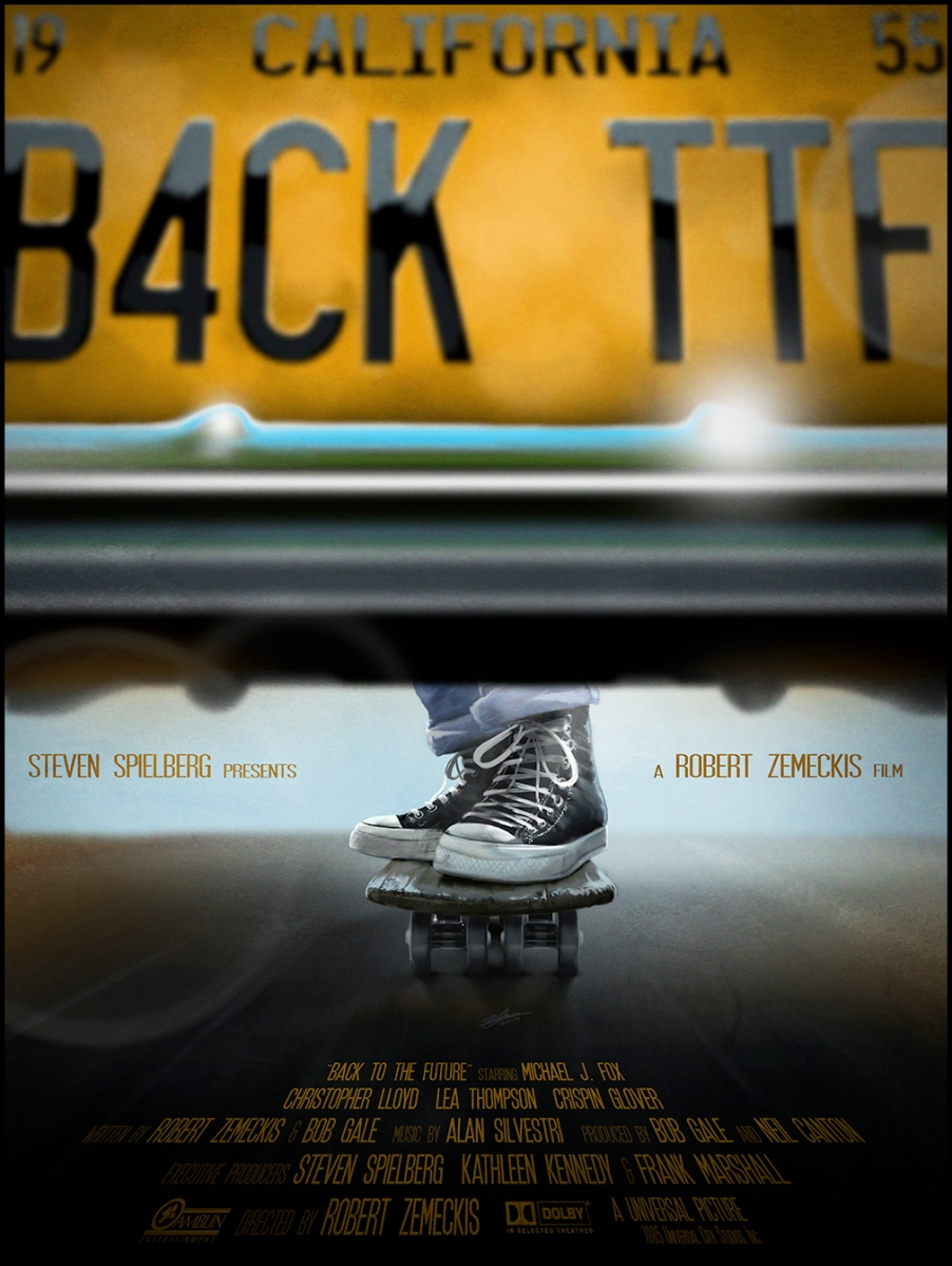 "EXCLUSIVE! Andy Fairhurst Takes Us ""Back To The Future"" With 3 Outstanding New Prints."
