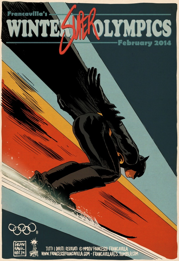 Olympics-Batman-francavilla