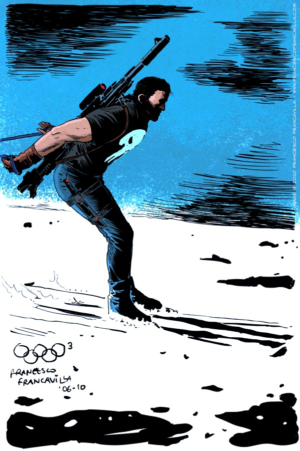 Olympics-Punisher-Francavilla