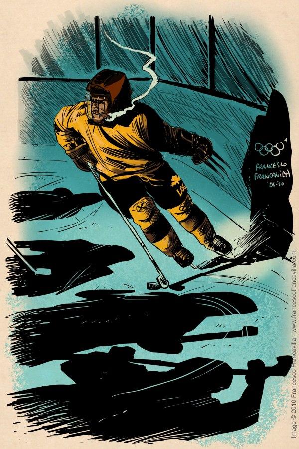 Olympics-Wolverine-Francavilla