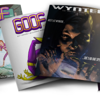 "New Worlds Comics Launches ""GOOF"" and ""WYNTER"" On Apple This Week!"