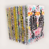 "IDW Limited And Jim Mahfood Offer 10 Incredible, Hand-Painted Covers For ""Visual Funk"""