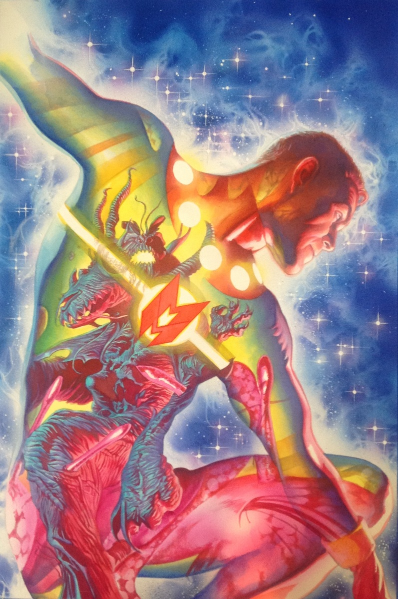 "Alex Ross Delivers A Stunning Cover For Marvel's ""Miracleman #5"""