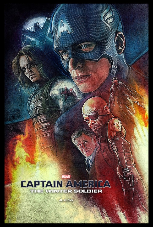 _Captain_America The Winter Soldier by Paul Shipper
