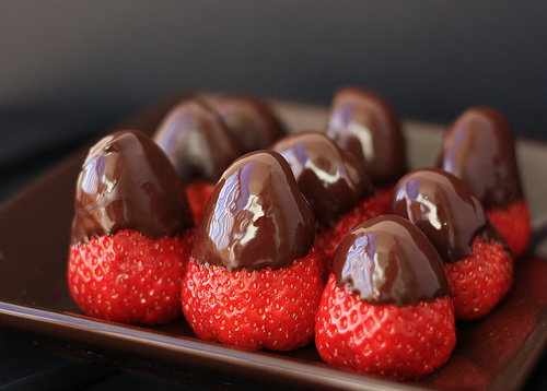 chocolatecoverdstrawberries