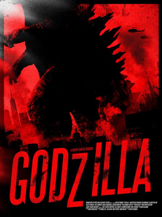 Godzilla POSTER 1 SMALL