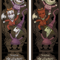 "Graham Erwin's Nightmare Before Christmas AP's From Mondo's ""Nothing's Impossible"" Show Go On Sale TODAY, 3/13/14!"