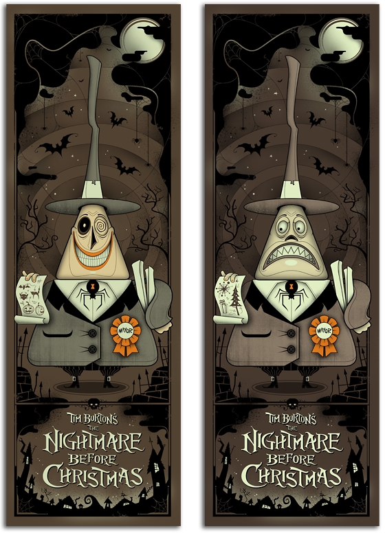 Graham Erwin S Nightmare Before Christmas Ap S From Mondo S Nothing S Impossible Show Go On Sale Today 3 13 14 Blurppy And what will happen when the characters find out that there is a world where they. nightmare before christmas