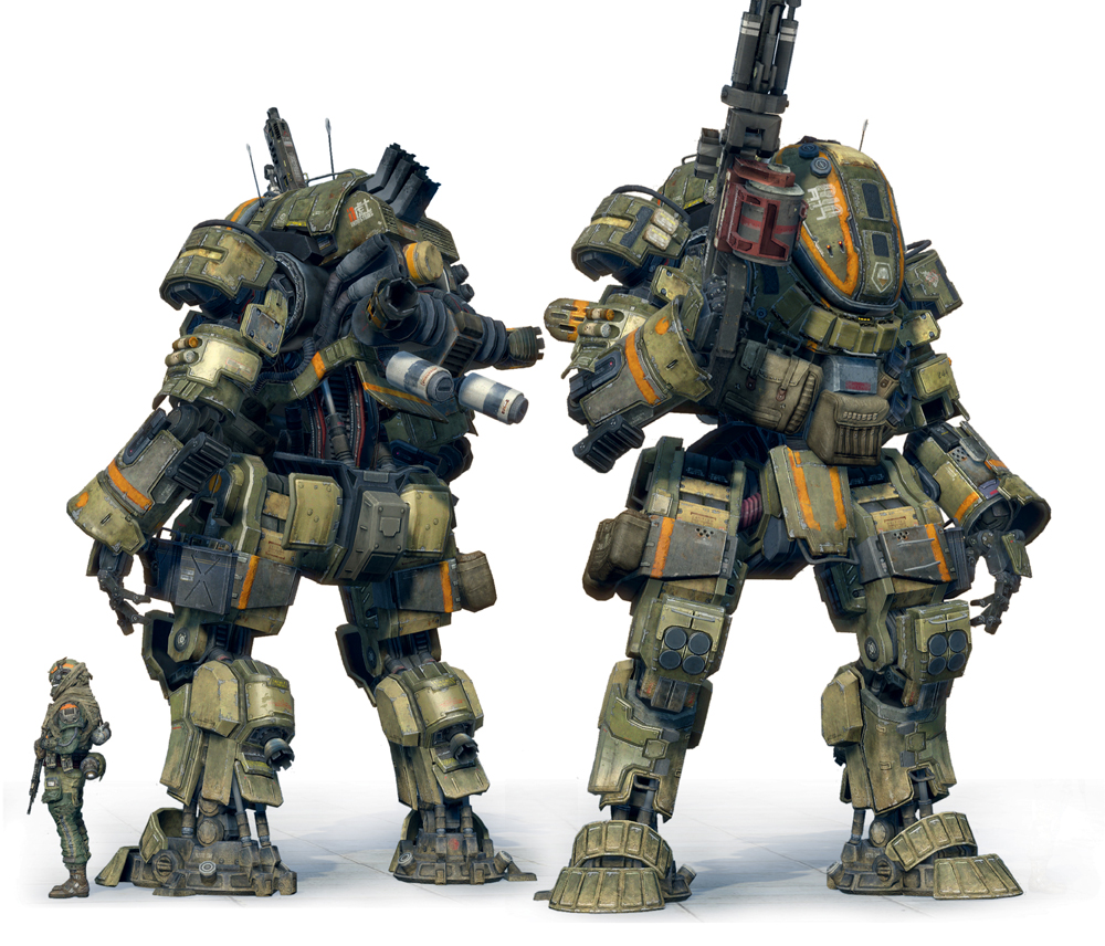 Titan Books Presents The Art Of Titanfall Blurppy