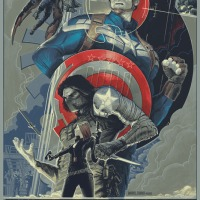 "Mondo Announces A Print For Marvel's ""Captain America: The Winter Soldier"" And Calls Rich Kelly To Arms"