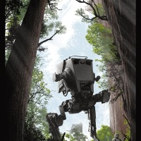 Artist JC Richard Takes Star Wars Fans To The Forests Of Endor With His Latest Print