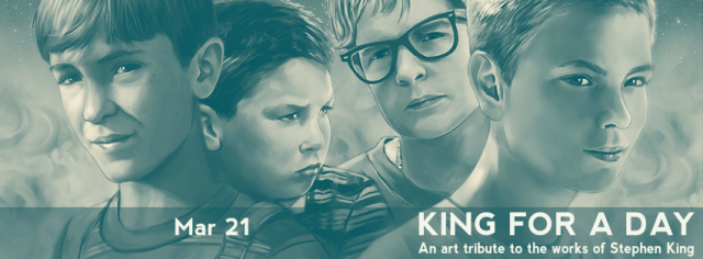 KIng for a day banner