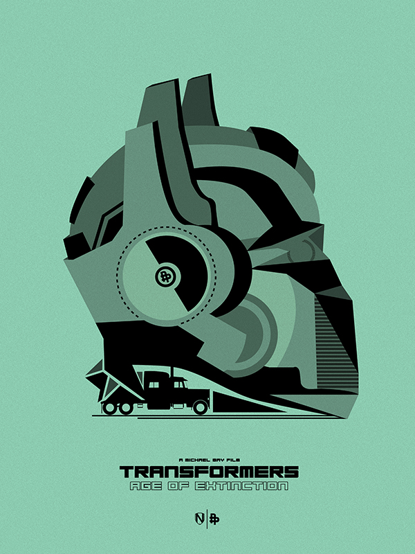 TRANSFORMERS 4 GREEN