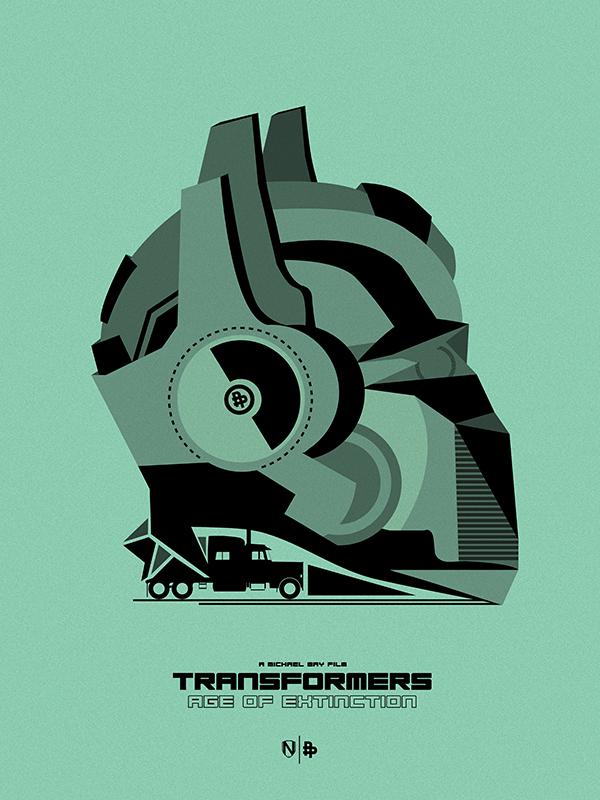 TRANSFORMERS 4 GREEN