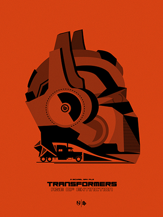 TRANSFORMERS 4 ORANGE