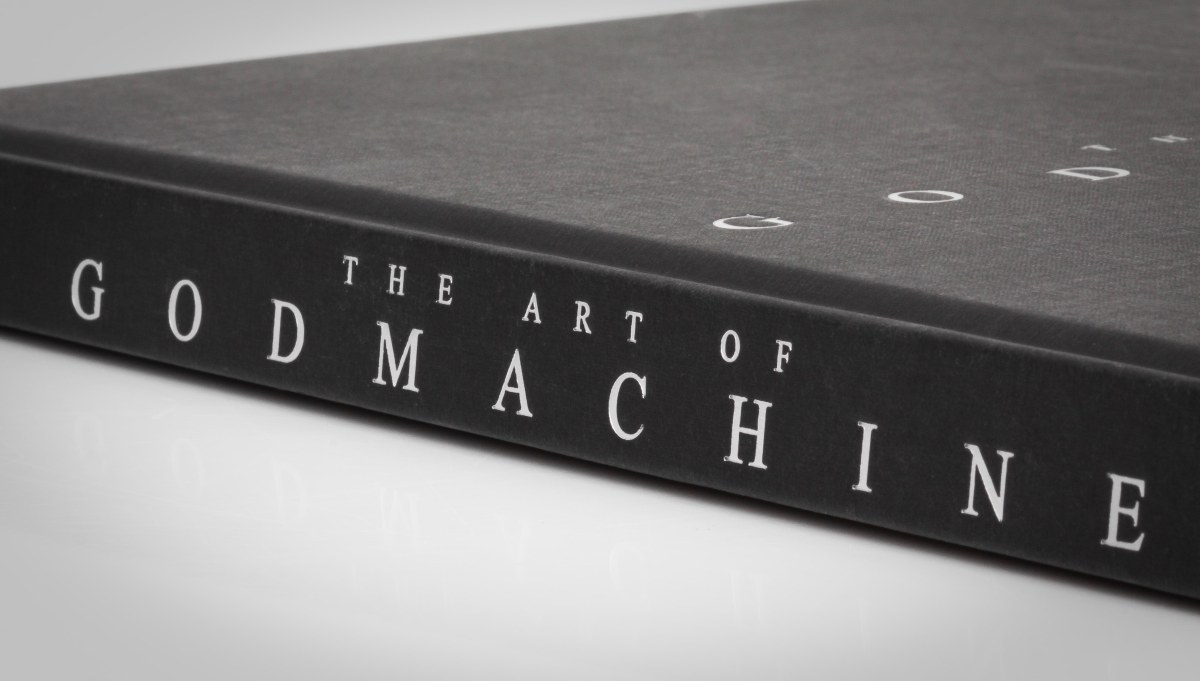 EXCLUSIVE Interview With U.K. Artist Godmachine About His First Book And Upcoming Solo Show With The Flood Gallery