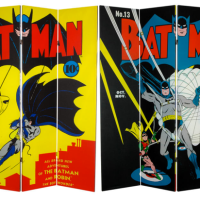 Add Some DC & Marvel Comic Book Art To Your Room Or Workspace With These AWESOME Room Dividers
