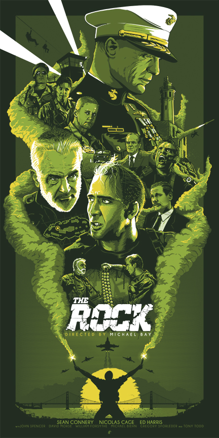 THE ROCK_SCREENPRINT_GREEN