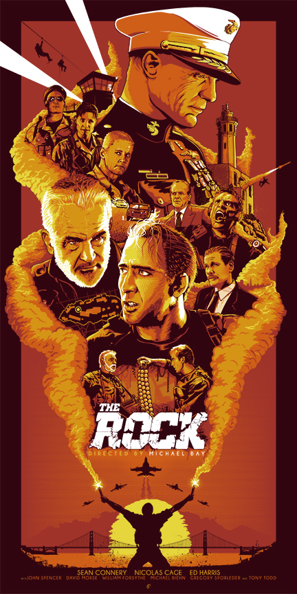THE ROCK_SCREENPRINT_ORANGE