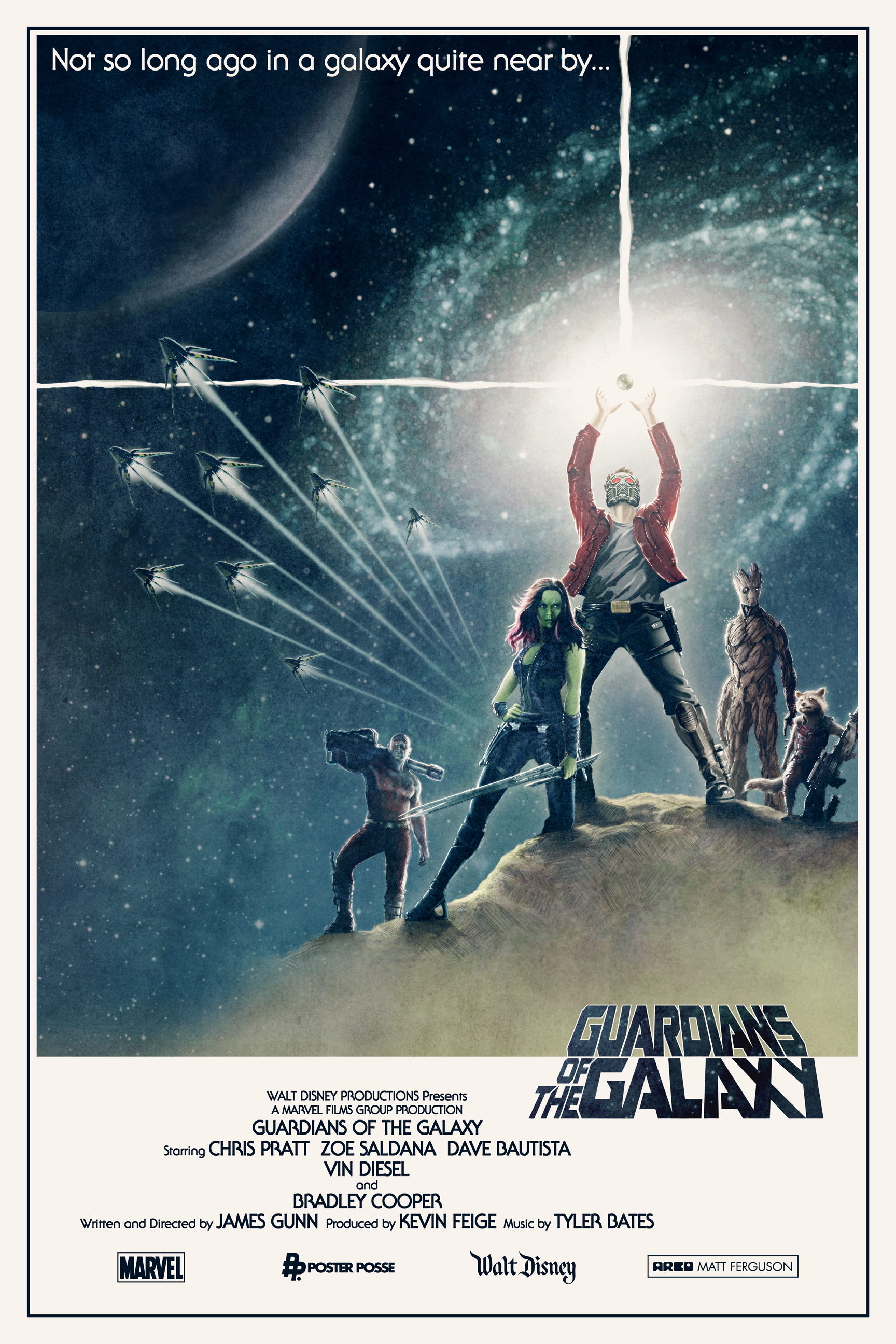 Guardians Of The Galaxy Movie Poster New TV Spot and Fan Po...