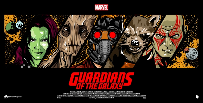 Resultado de imagen para guardians of the galaxy fan art