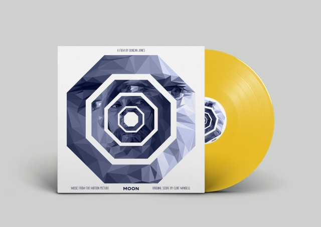 :Moon Vinyl Triangle Cover