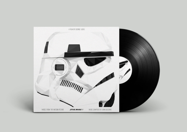 :Star Wars IV vinyl cover
