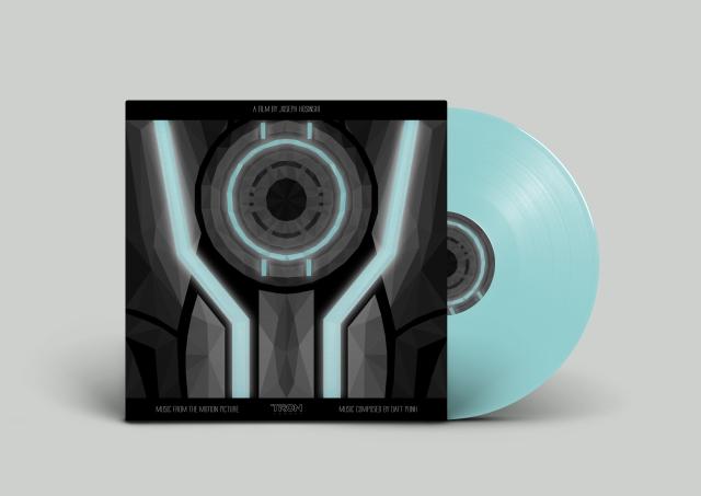 :Tron Legacy Vinyl Cover