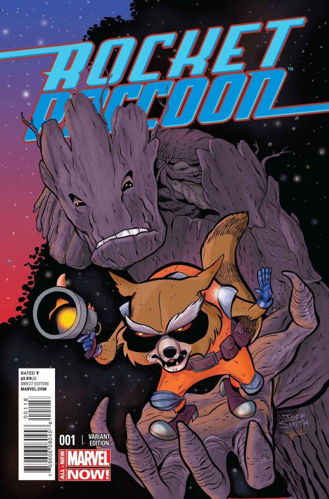 Rocket Raccoon 1 Jeff Smith Variant SDCC Exclusive