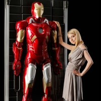 Start Your Own Hall Of Armor With This Life-Size, 3D Iron Man Wall Figure