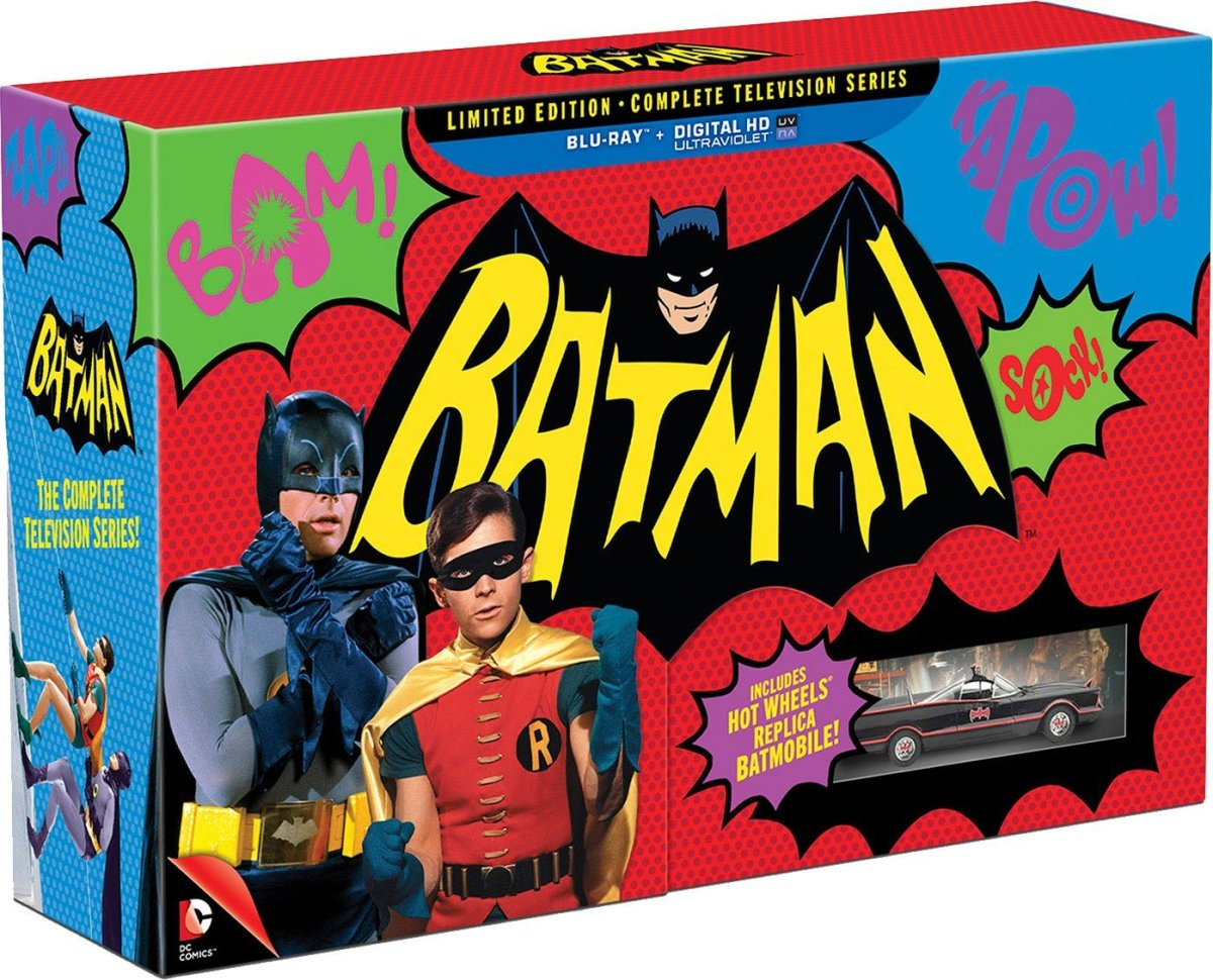 "For The Very First Time: ""Batman: The Complete TV Series"" Is Coming To Blu-ray & DVD...And We Can't WAIT!"