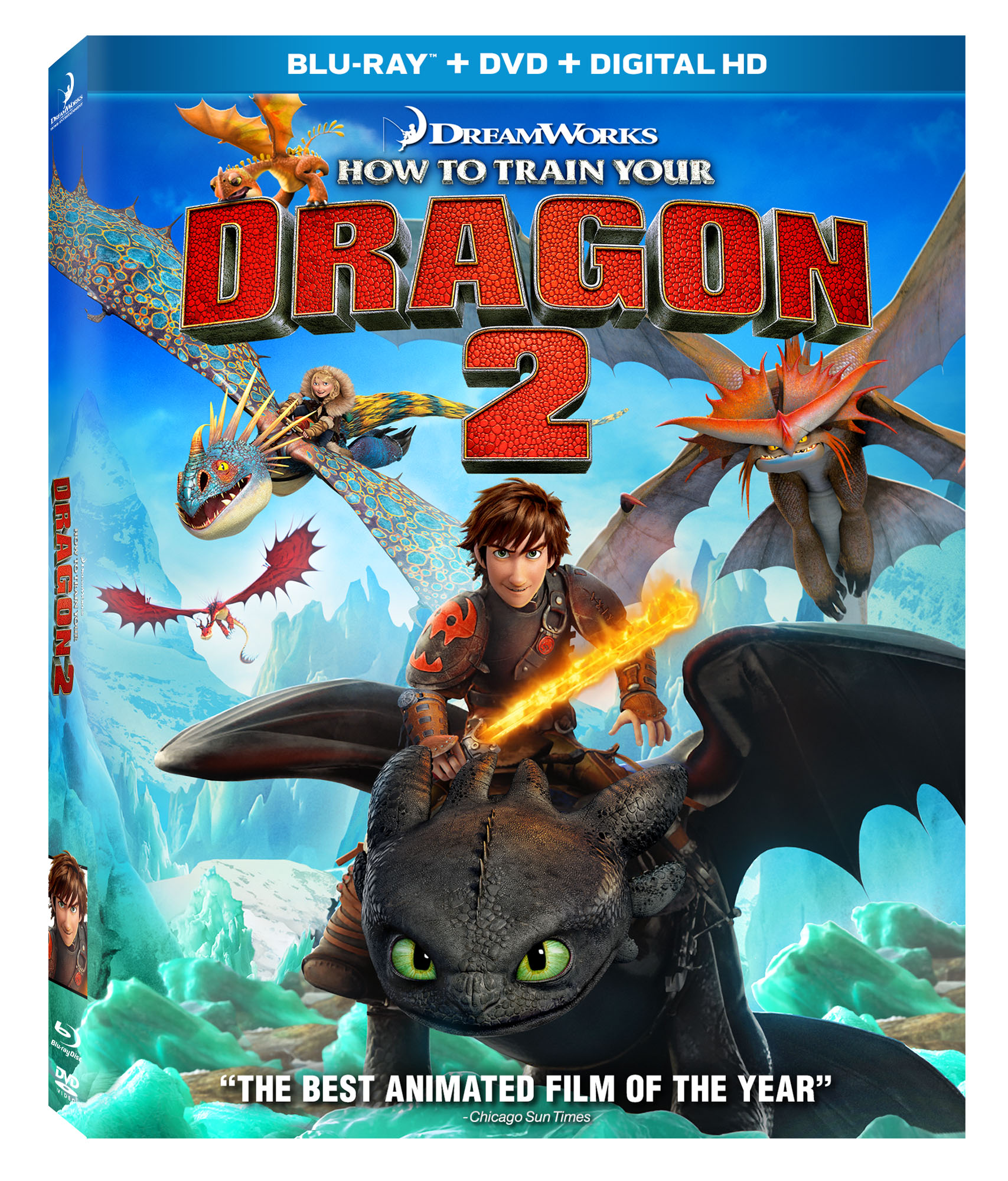 """dreamworks """"how to train your dragon 2"""" comes to digital hd oct"""