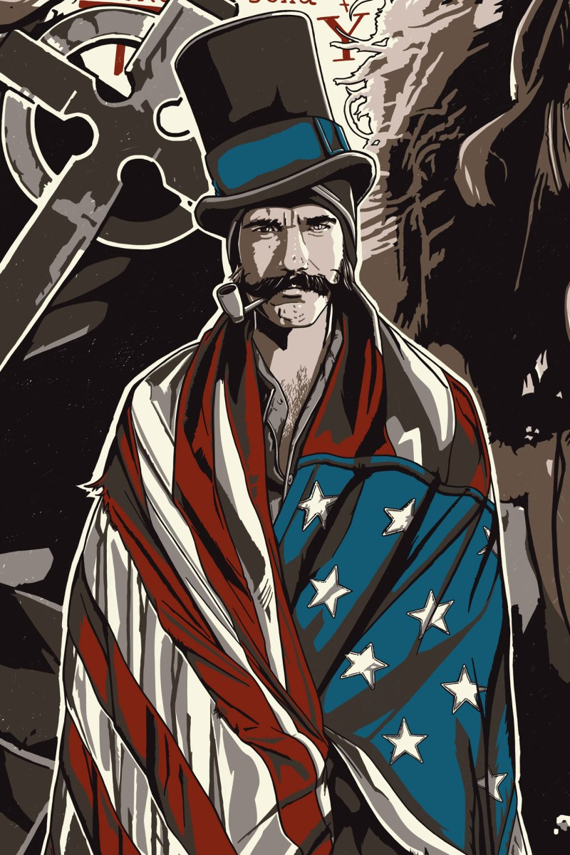 "Poster Posse Member The Dark Inker Turns In A Brilliant Commissioned Piece For Scorsese's ""Gangs Of New York"""