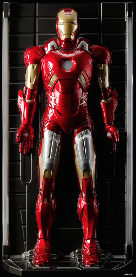Iron Man 3D Wall Figure 1