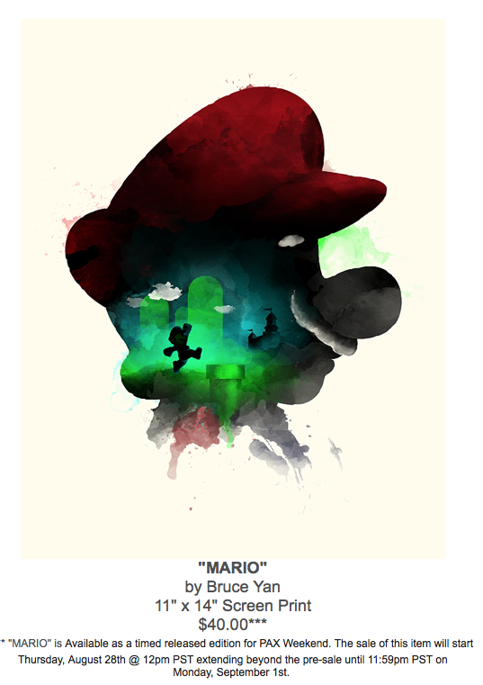 Bruce Yan Super Mario
