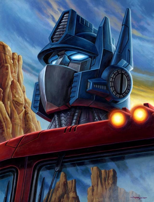 Transformers Optimus sm