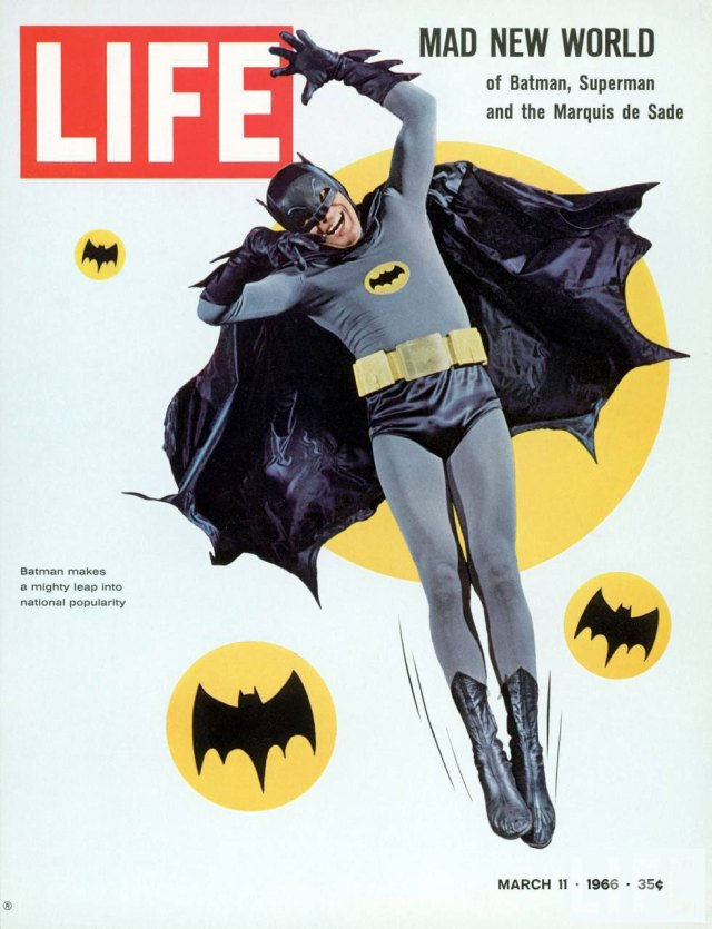 Batman Life Magazine Cover 1966