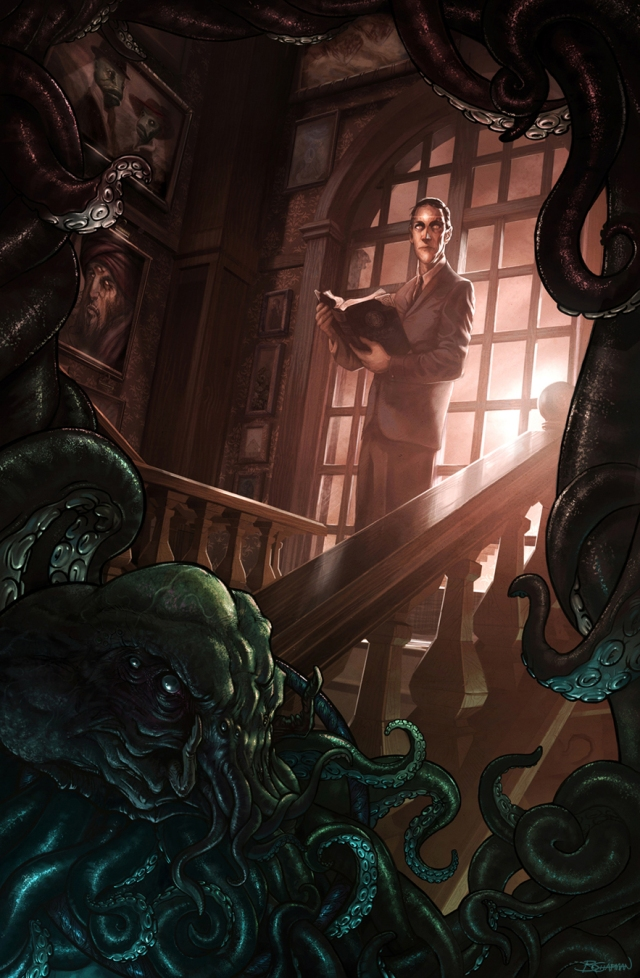 HP Lovecraft_Barret Chapman