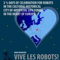 "The Poster Posse Travels To Prague For A Robot Themed Exhibit/ Festival: ""Cafe Neu Romance"" By Vive Les Robots!"