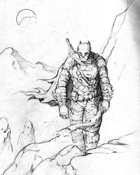 iron age sketch