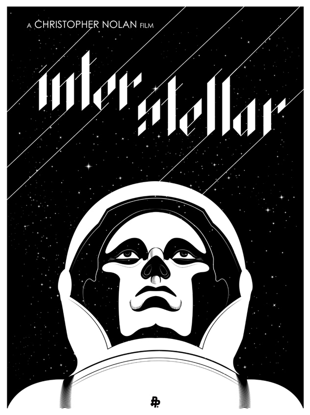 Poster INTERSTELLAR low res