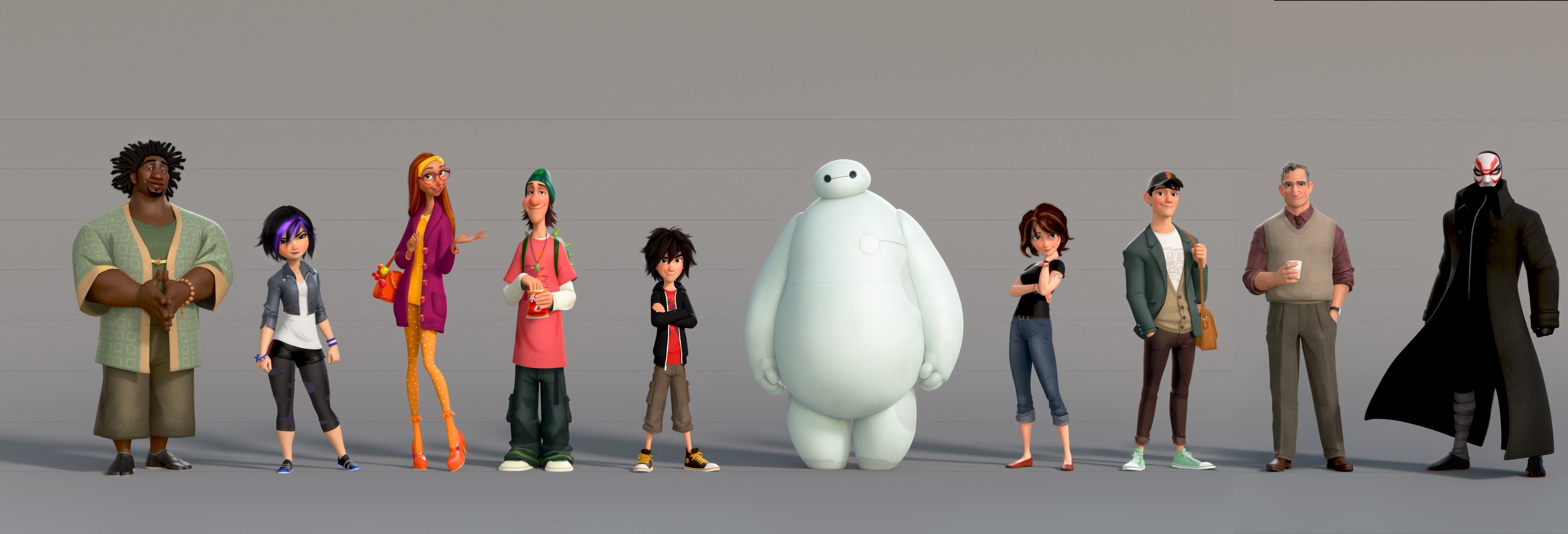 Big Hero 6 Cartoon Characters Names : The poster posse announces phase of their official