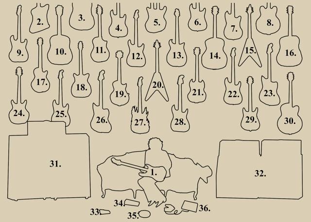 guitars ref